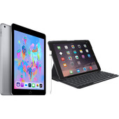 Combipakket - Apple iPad (2018) 128GB Gray + Hoes + Pencil