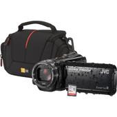 Starterskit JVC GZ-R401BEU Zwart + Tas + Geheugenkaart