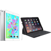 Combipakket - Apple iPad (2018) 128GB Silver + Hoes + Pencil