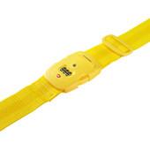 Samsonite Safe US3 Combi Luggage Strap 2 Yellow
