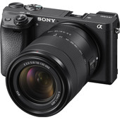 Sony Alpha A6300 Zwart + E 18-135mm OSS