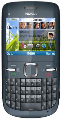 Nokia C3-00 Slate Grey Hi Prepaid