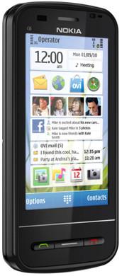 Nokia C6-00 Black QWERTY