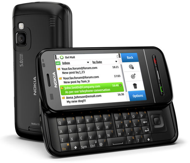Nokia C6-00 Black QWERTY