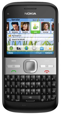 Nokia E5-00 Carbon Black