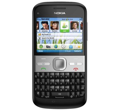 Nokia E5-00 Carbon Black
