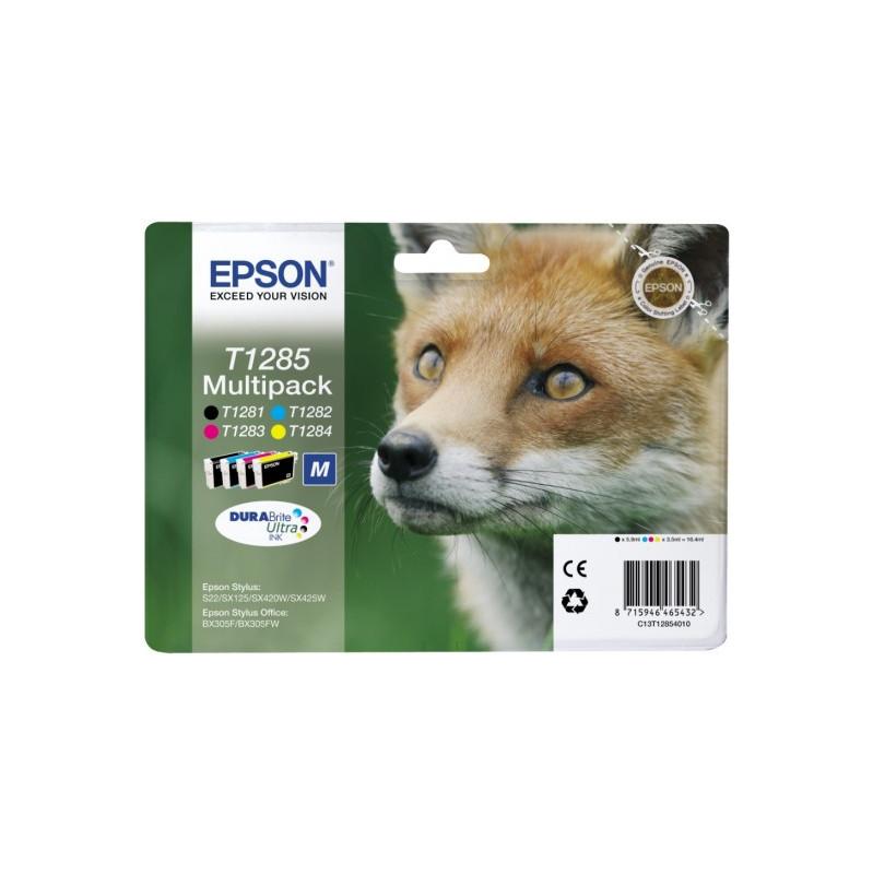 Epson T1285 4 Color Multipack (4 Kleuren) C13t12854010