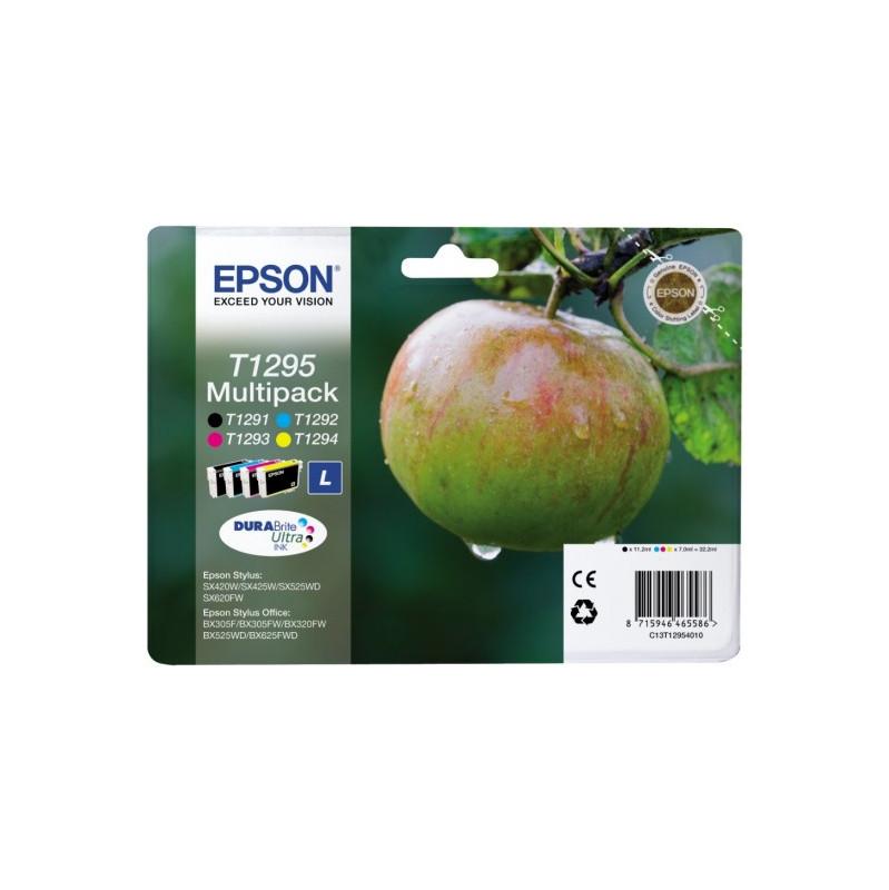 Epson T1295 Large 4 Color Multipack (4 Kleuren) C13t12954010 vandaag bezorgd