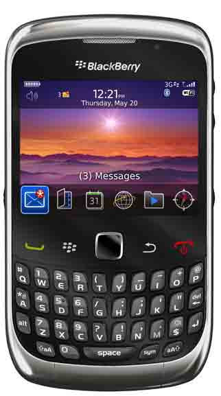 BlackBerry Curve 9300 KPN Prepaid