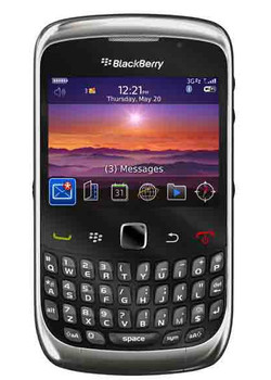 BlackBerry Curve 9300 Grey QWERTY