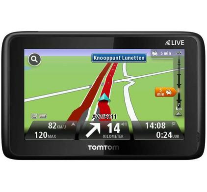 TomTom GO LIVE 1000 + Tas + Thuislader + Dashboard Donut