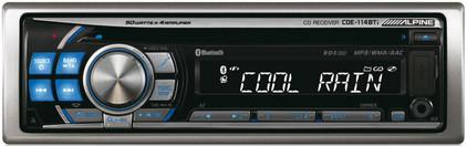 Alpine CDE-114BTi Autoradio