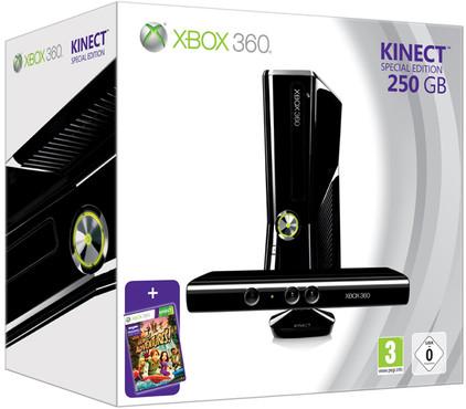 Xbox 360 250 GB + Kinect Bundel