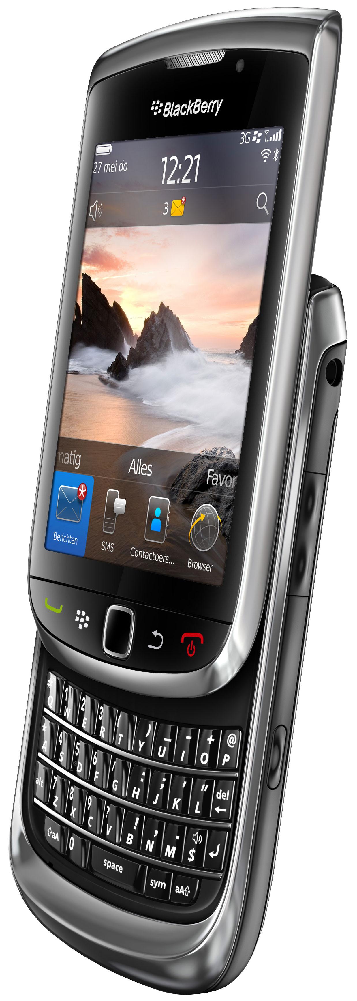 BlackBerry Torch 9800 Black QWERTY