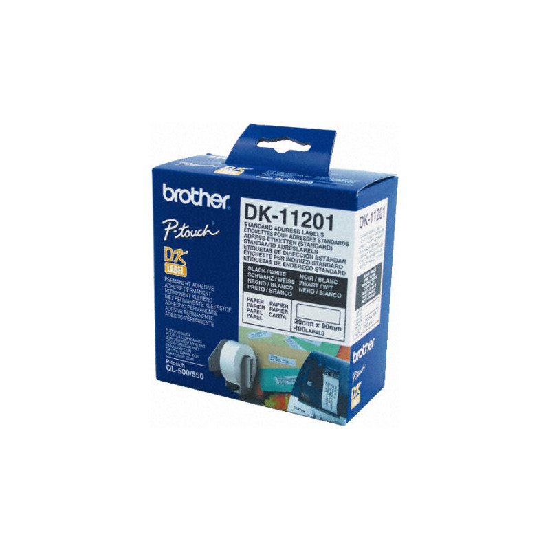 Brother Dk-11201 Labels (29 X 90 Mm) 1 Rol