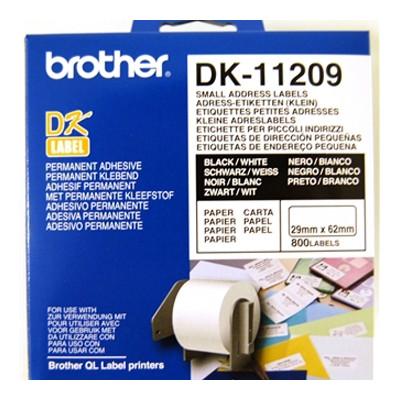 Brother Adresetiketten »DK-11209«