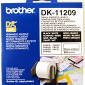 Brother DK-11209 Labels (29 x 62 mm) 1 Rol