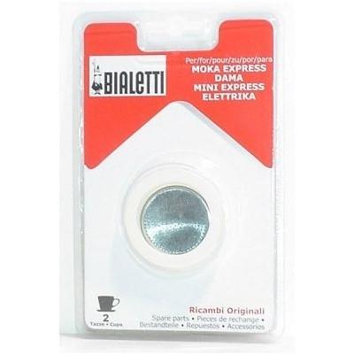 Bialetti Filterplaatje + Rubber Ring 2 kopjes