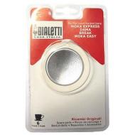 Bialetti Filterplaatje + Rubber Ring 6 kopjes