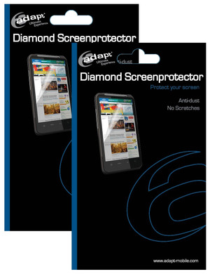 Adapt Screenprotector BlackBerry Bold Touch 9900 Duo Pack
