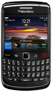 BlackBerry Bold 9780 Black QWERTY