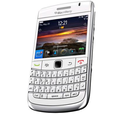 BlackBerry Bold 9780 White QWERTY