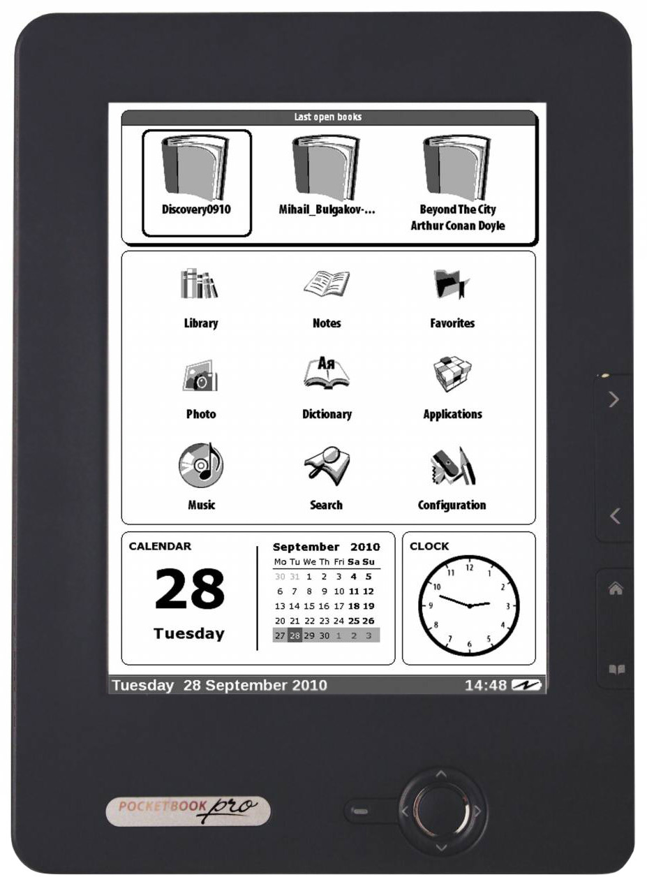 Pocketbook Pro 602 e-Reader Dark Grey