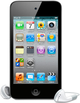 Apple iPod Touch 8 GB Zwart (4G)