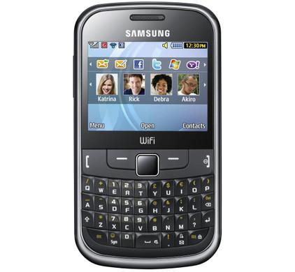 Samsung Ch@t 335 Prepaid Telfort Metallic Black