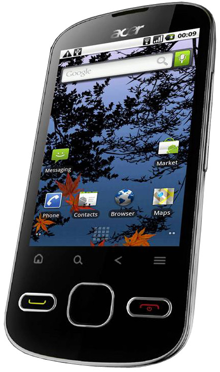 Acer BeTouch E140 White
