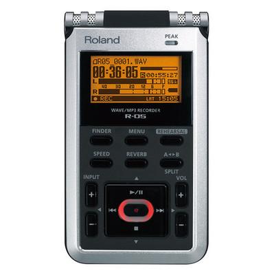 Image of Roland R-05 Mobiele audiorecorder Zwart/zilver