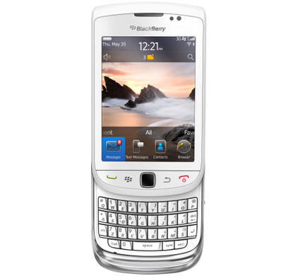 BlackBerry Torch 9800 White QWERTY