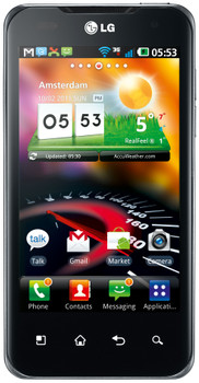 LG P990 Optimus 2X Speed Black