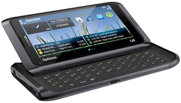 Nokia E7-00 Dark Grey QWERTY