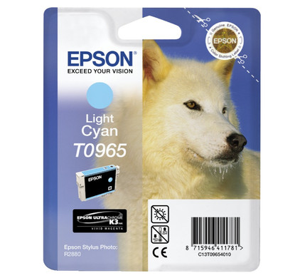 Epson T0965 Light Cyan Ink Cartridge (licht blauw) C13T09654010
