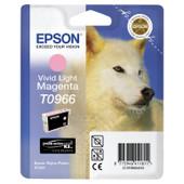 Epson T0966 Vivid Light Magenta Ink Cartridge (licht rood) C13T09664010