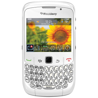 BlackBerry Curve 8520 White T-Mobile Prepaid