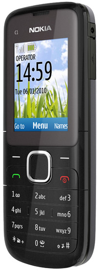 Nokia C1-01 Dark Grey Telfort Prepaid