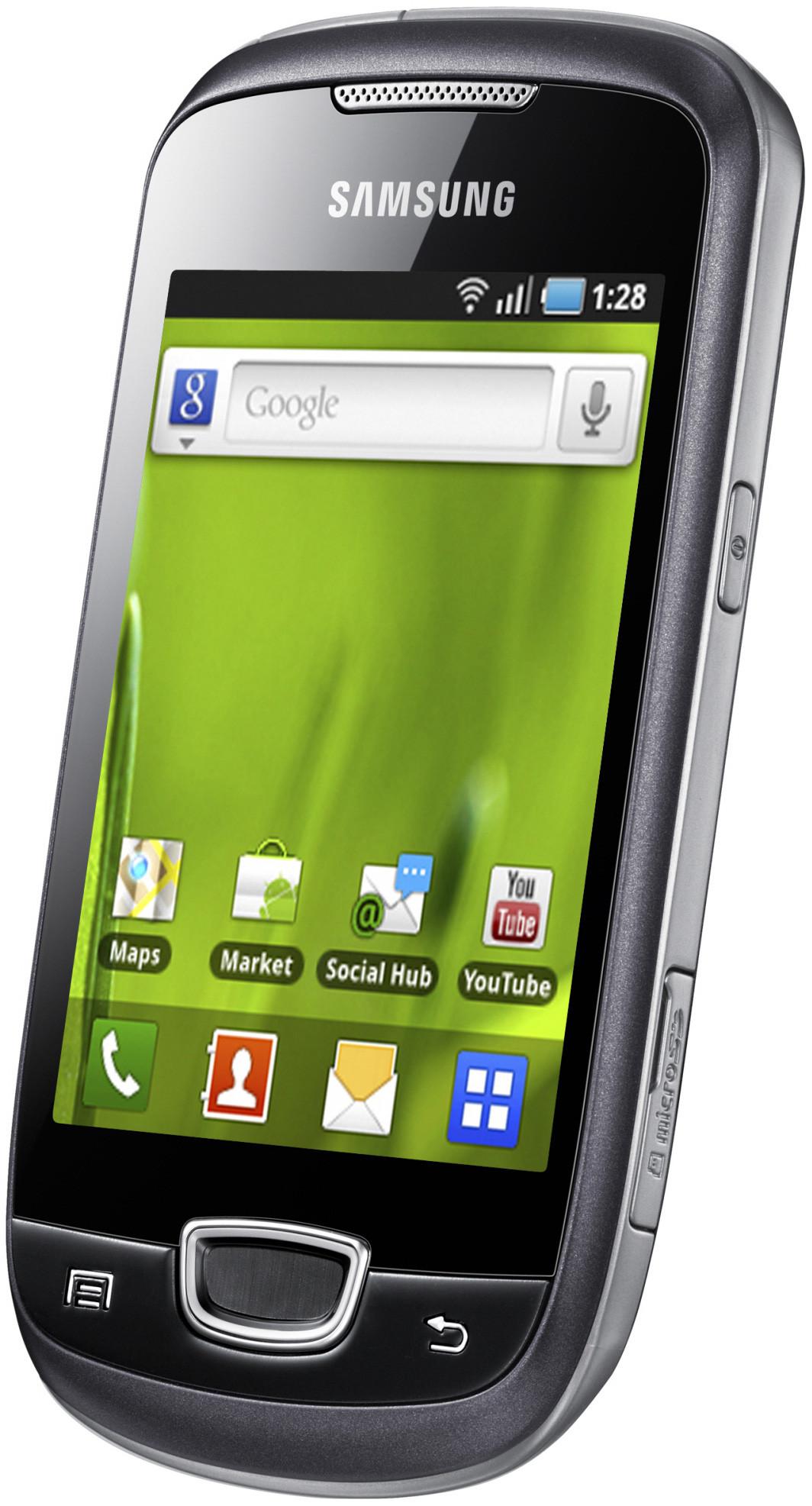 Samsung Galaxy Mini S5570 Steel Grey