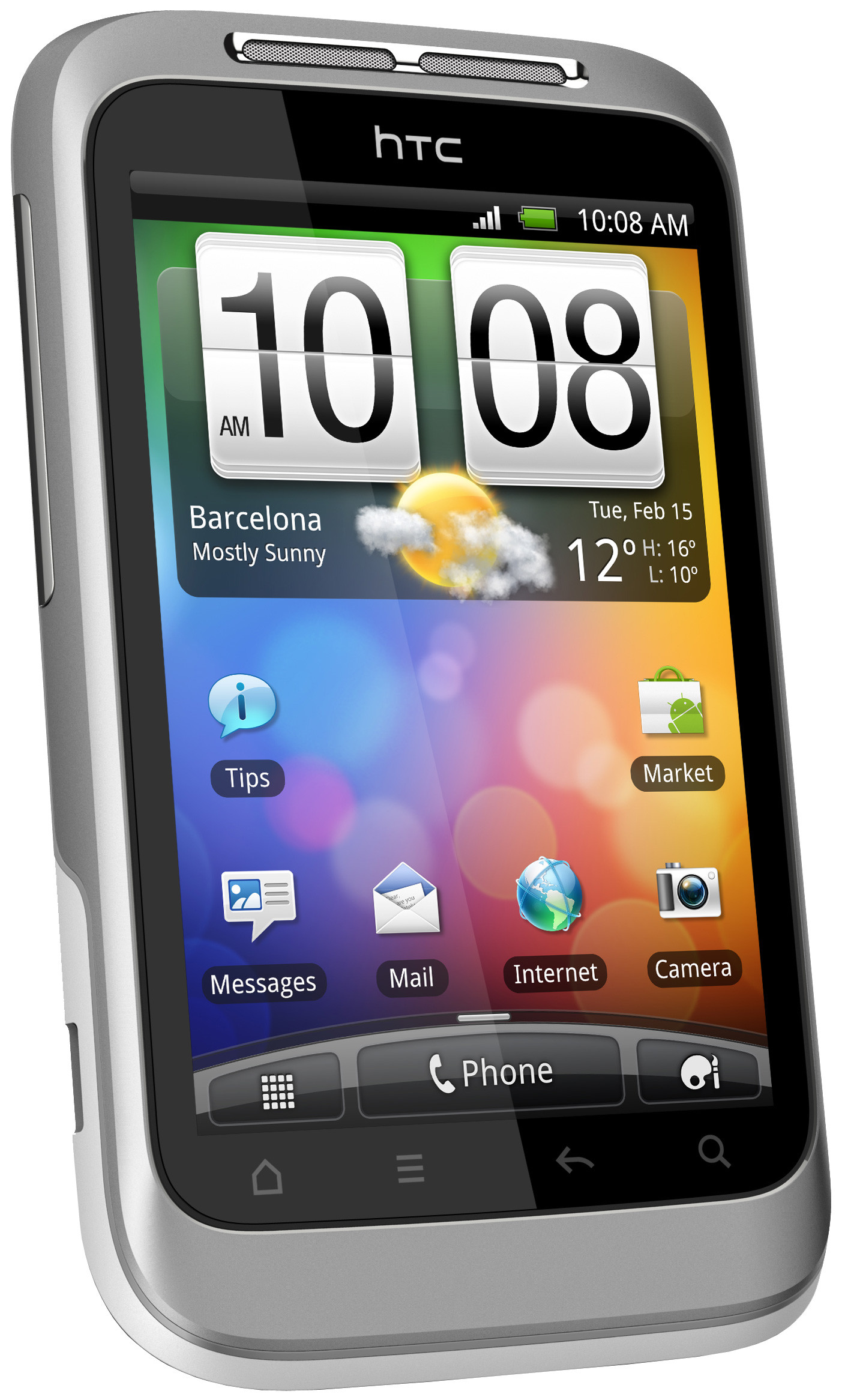 HTC Wildfire S Grey Vodafone Prepaid
