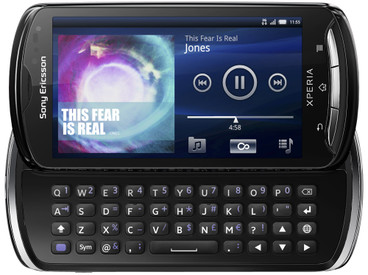 Sony Ericsson Xperia Pro Black