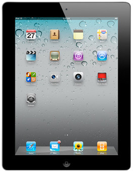 Apple iPad 2 Wifi + 3G 16 GB zwart