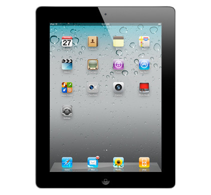 Apple iPad 2 Wifi 16 GB zwart
