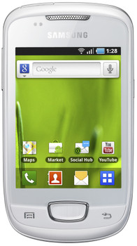 Samsung Galaxy Mini S5570 Wit Hi Prepaid