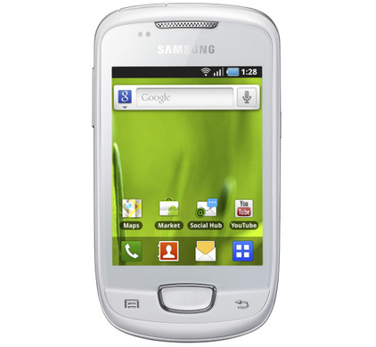 Samsung Galaxy Mini Chic White KPN Prepaid