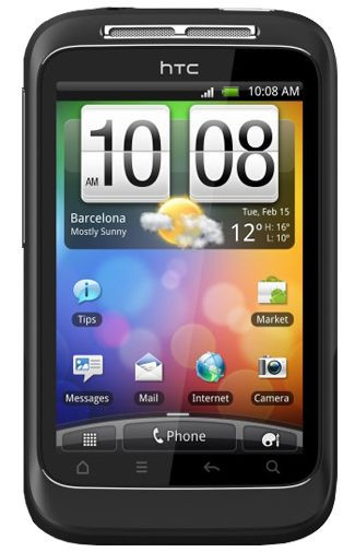 HTC Wildfire S Black T-Mobile Prepaid