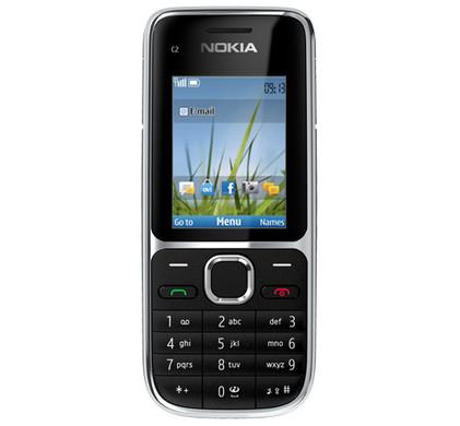 Nokia C2-01 Black Hi Prepaid