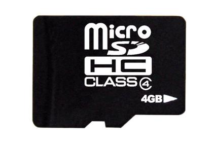 TakeMS microSD 4 GB SDHC (Class 4)