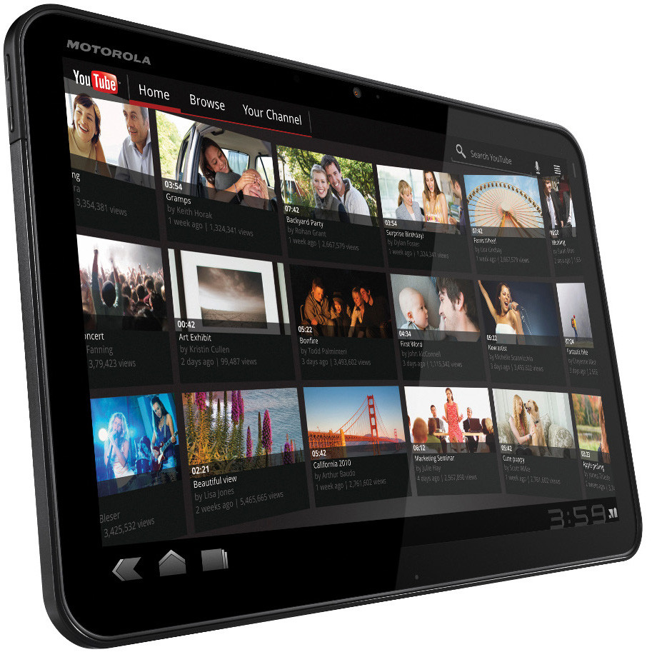 Motorola Xoom Wifi + 3G