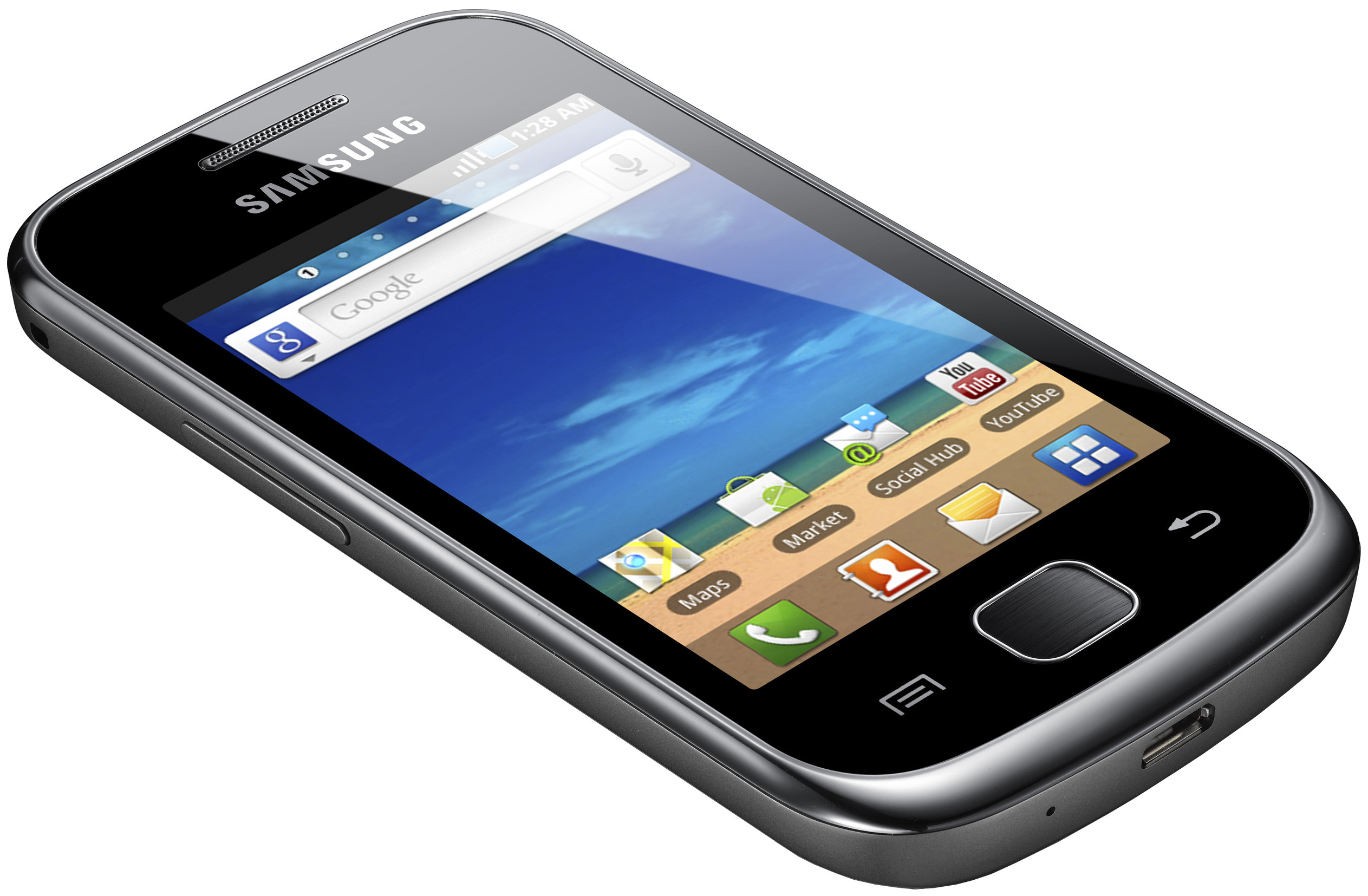 Samsung Galaxy Gio S5660 Dark Silver